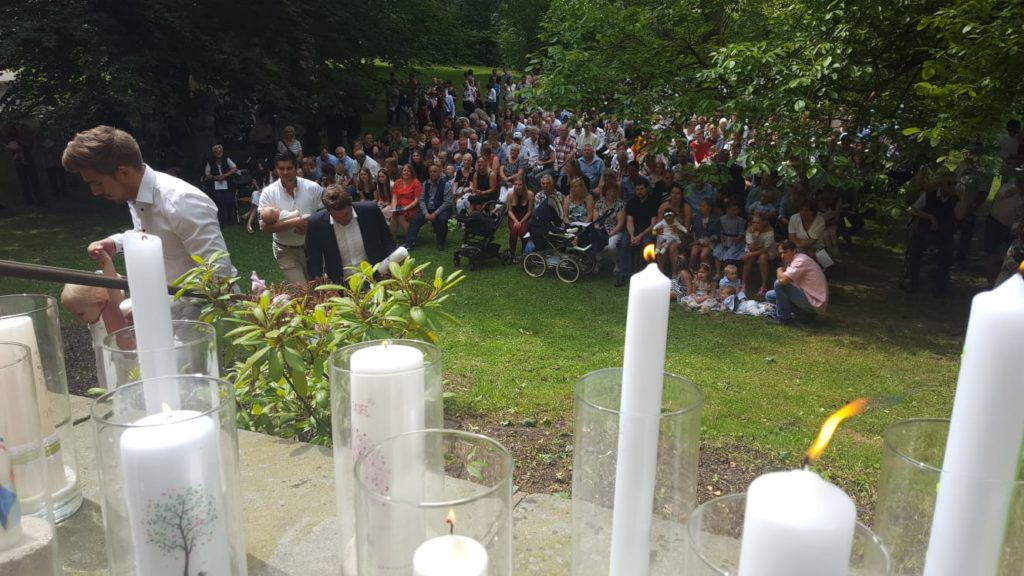 Großes Tauffest An Der Ruhr Evangelische Kirche Schwerte